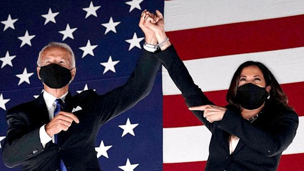 Joe Biden and Kamala Harris named TIME Person of the Year