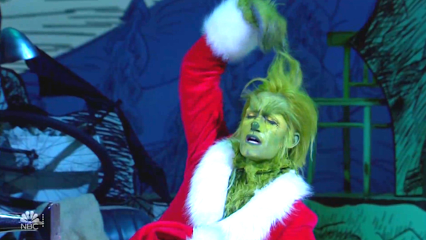 Matthew Morrison's performance in 'The Grinch Musical!' leaves several viewers feeling 'uncomfortable'