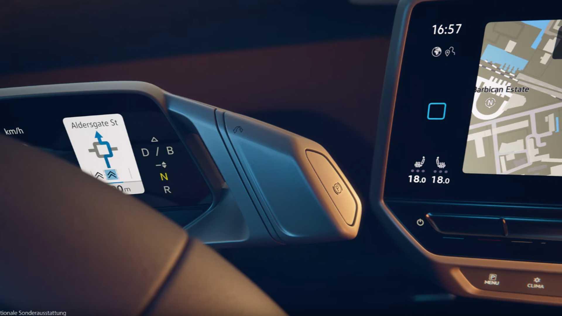 Volkswagen Id 3 Interior Leaked In Video Autoblog