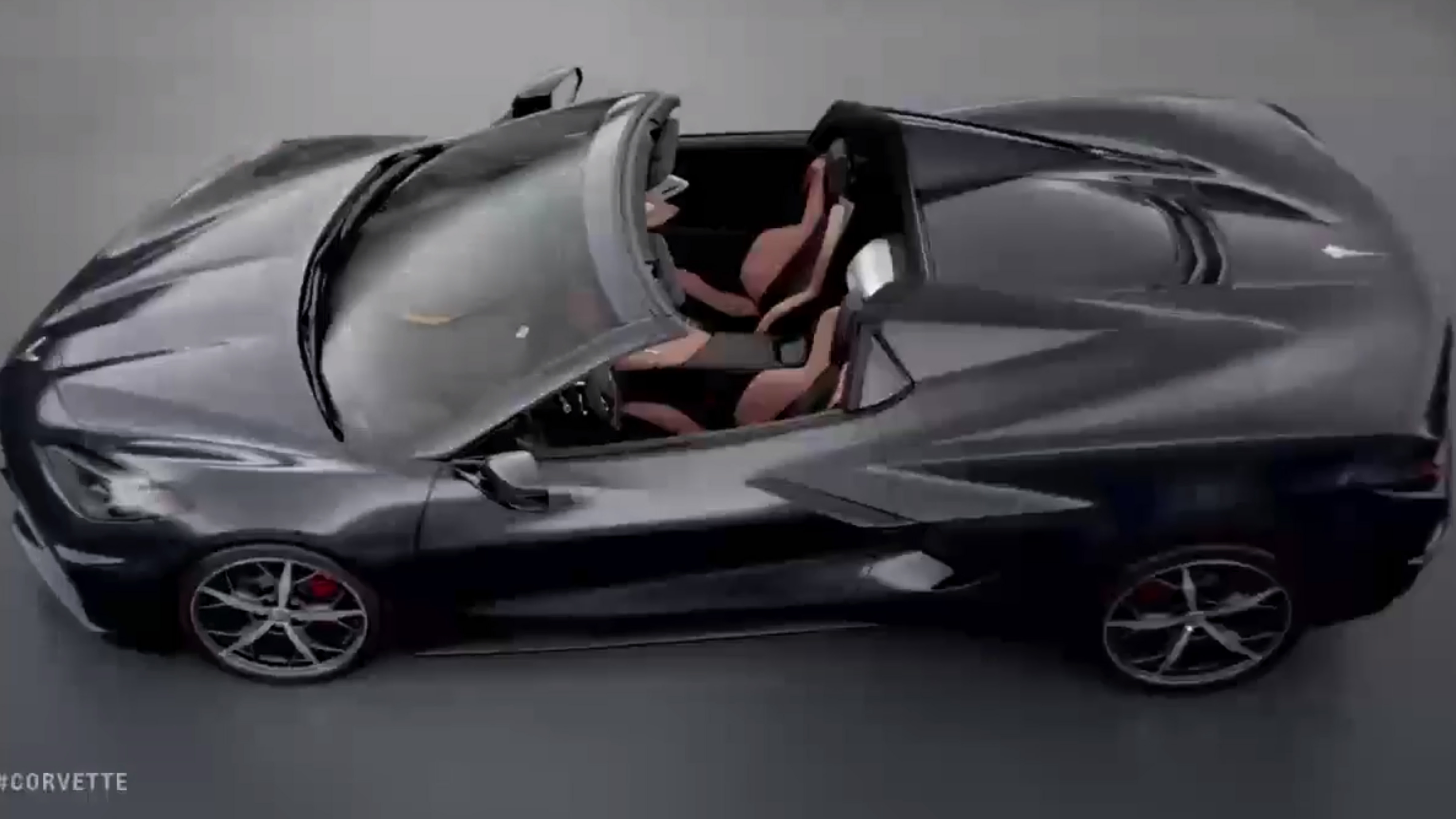 chevy corvette c8 convertible shown  coming soon