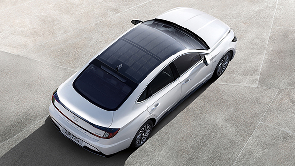 2020 Hyundai Sonata Hybrid Revealed With Solar Roof New