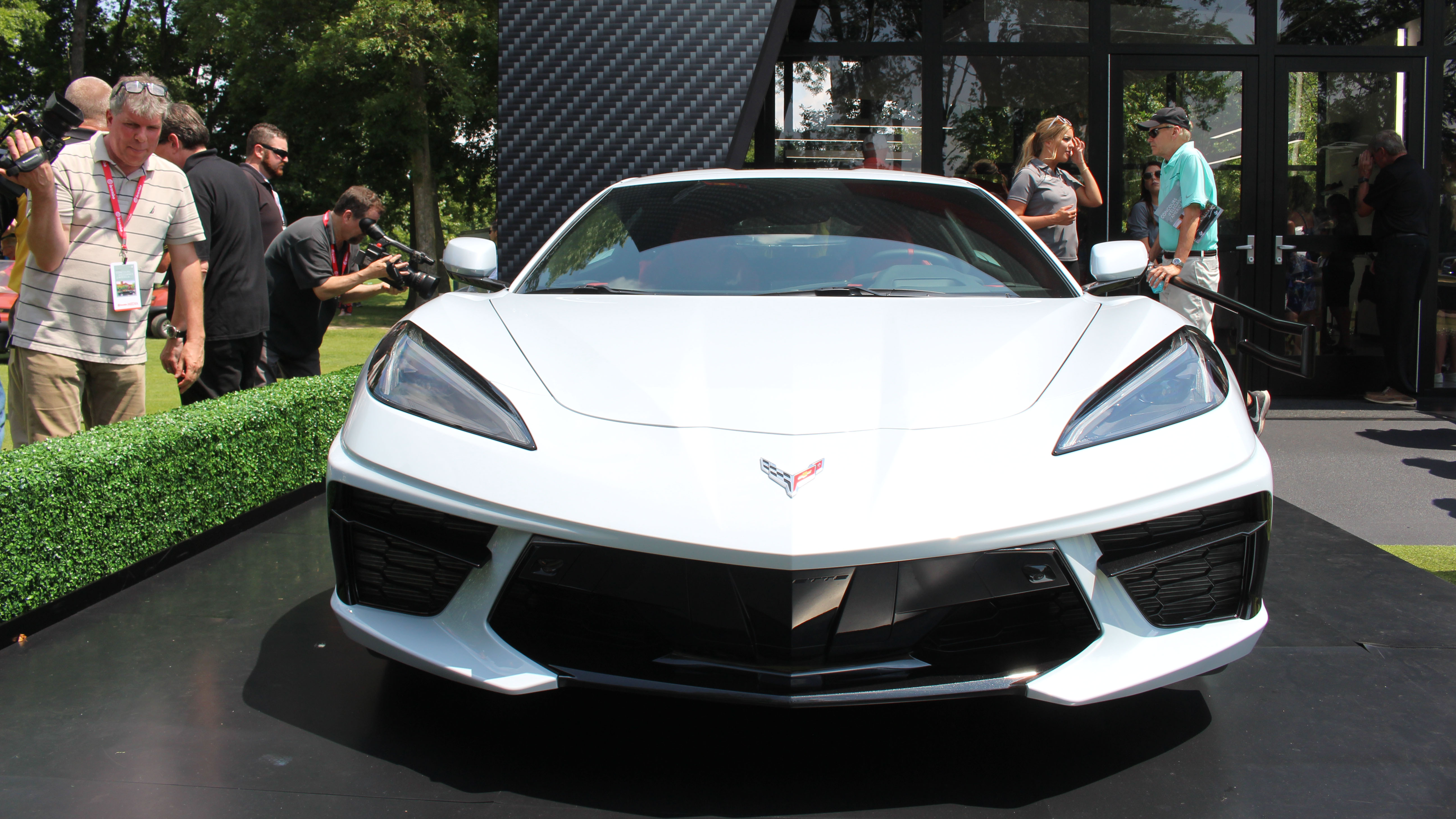 2020 Chevy Corvette analysis from the Concours d'Elegance ...
