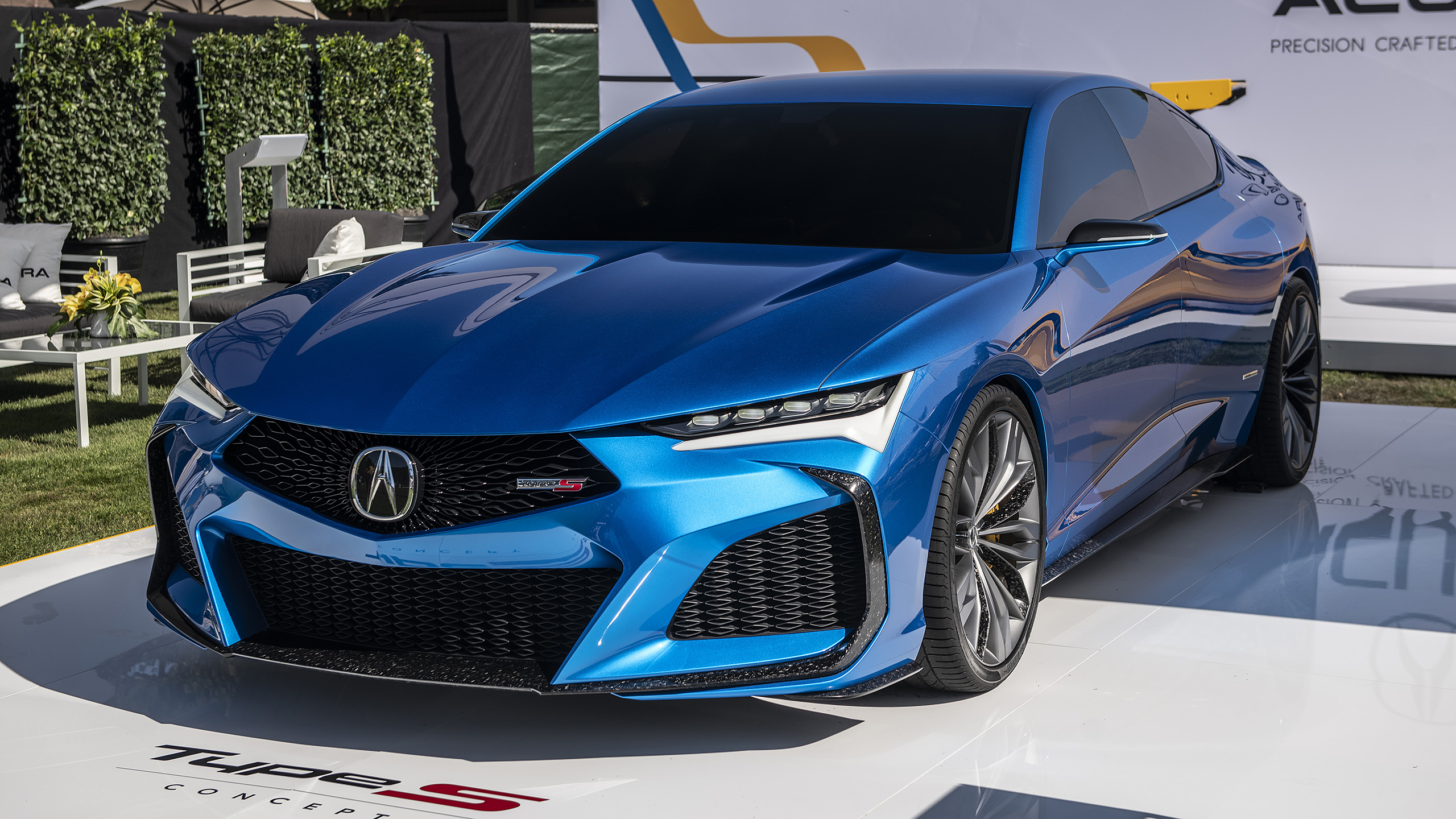 Acura Certified Pre Owned >> Acura Type S Concept looks even better in the Monterey sun ...