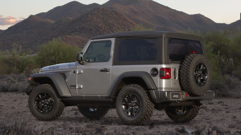 2020 Jeep Wrangler adds Willys, Black & Tan, Freedom ...