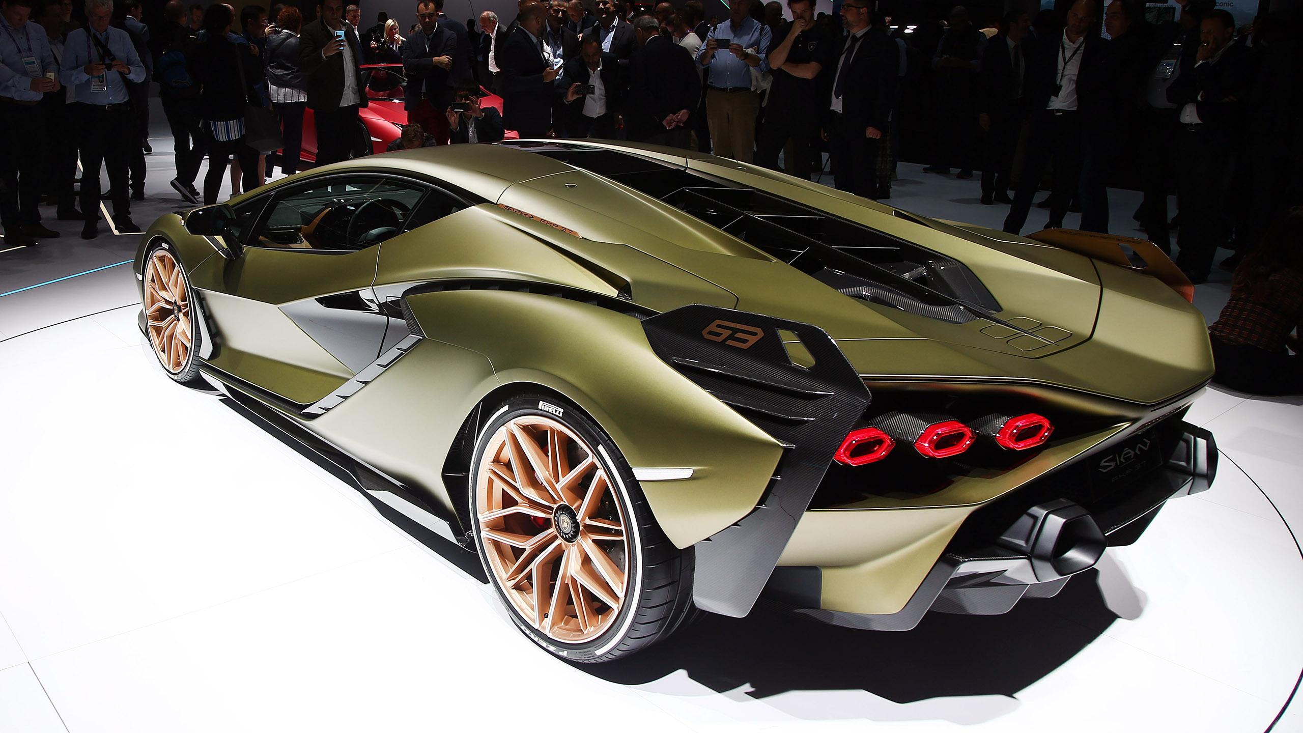 Kia Certified Pre-Owned >> Lamborghini Sian's hybrid system advantages explained   Autoblog