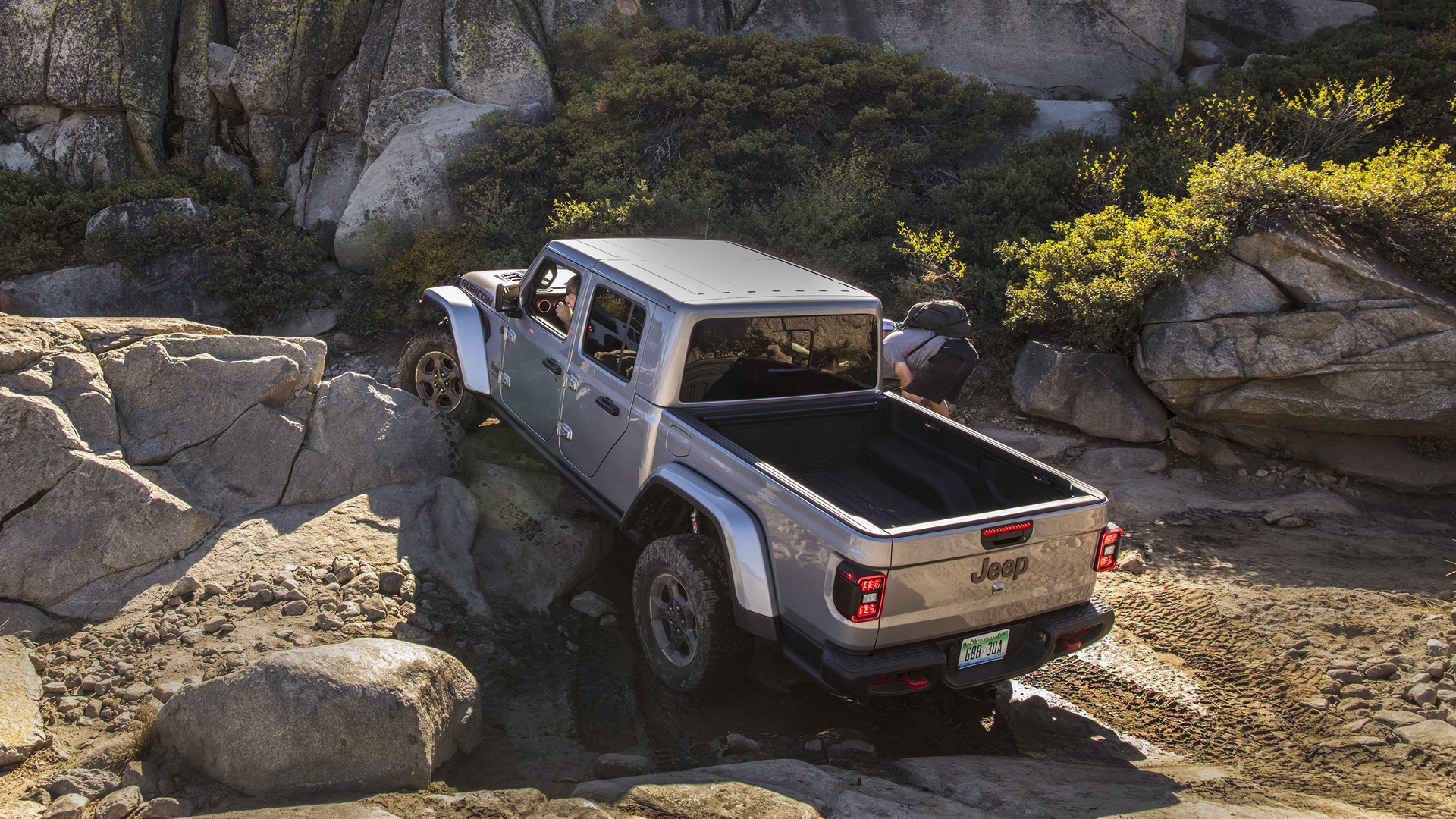 2020 Jeep Gladiator Rubicon Off-Road Drive on the Rubicon ...