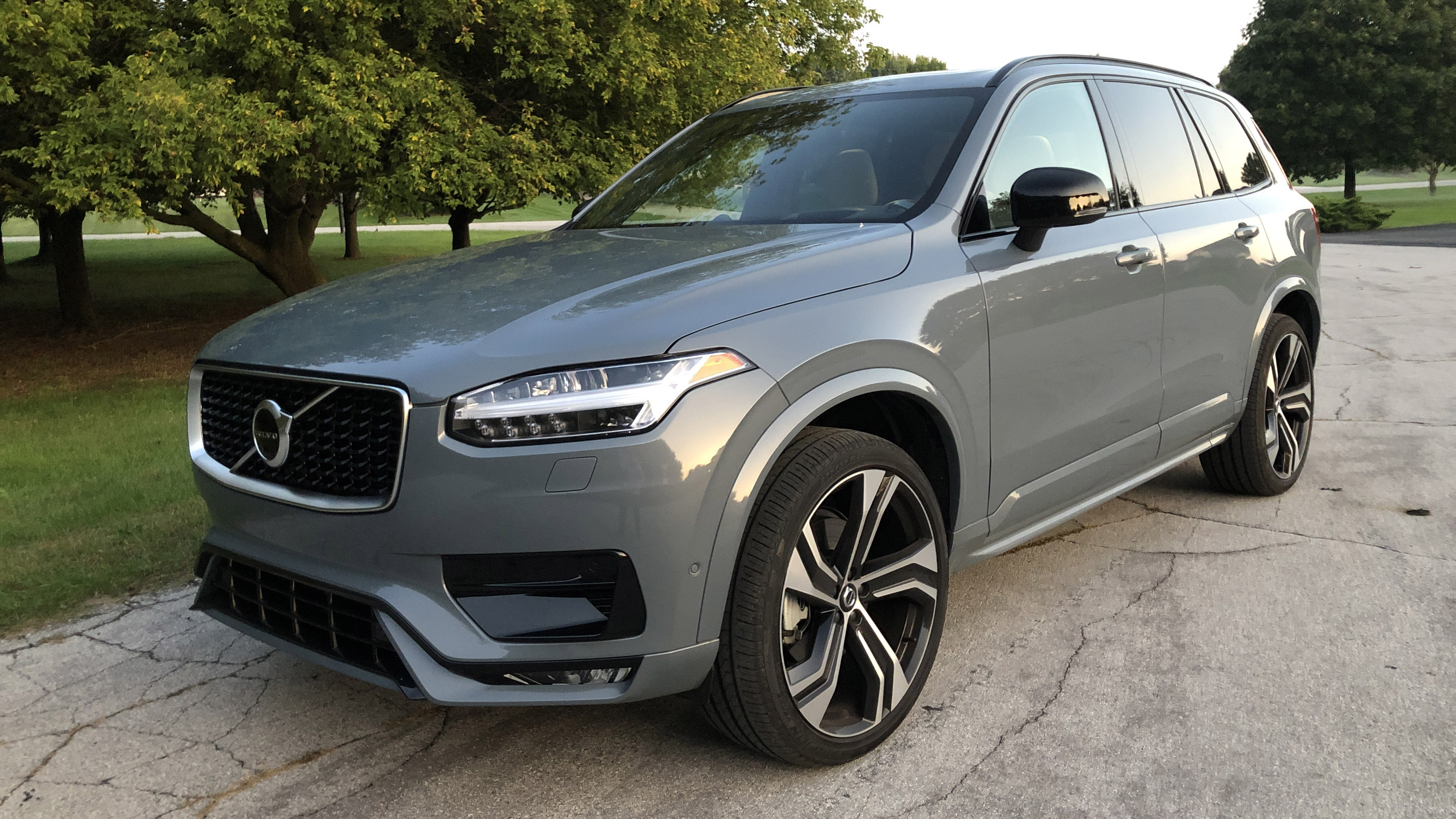 2020 Volvo Xc90 T6 R Design Review Driving Impressions Interior Space Autoblog