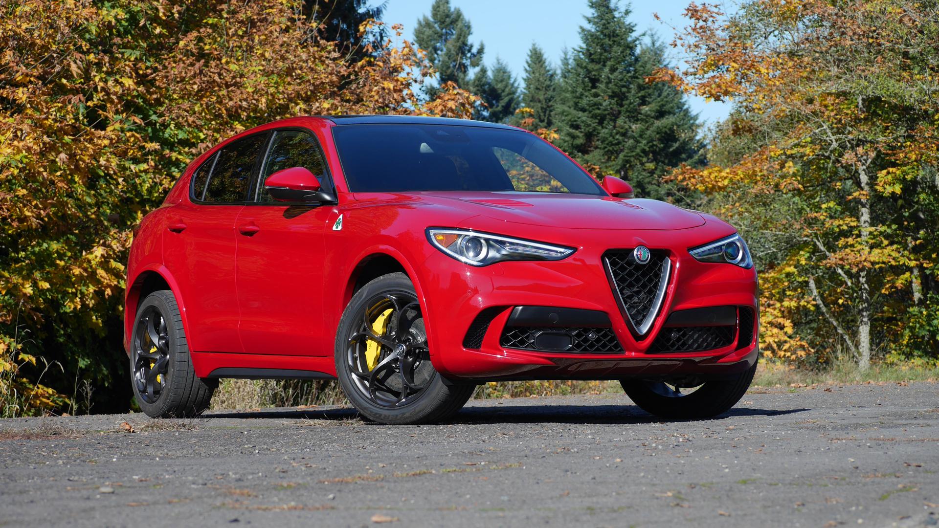 2019 Alfa Romeo Stelvio Quadrifoglio Review Performance Interior Handling Autoblog