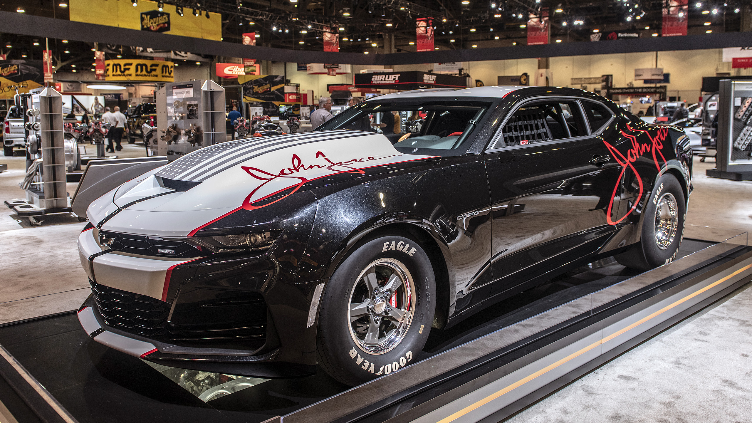2020 Chevrolet COPO Camaro John Force unveiled at SEMA ...