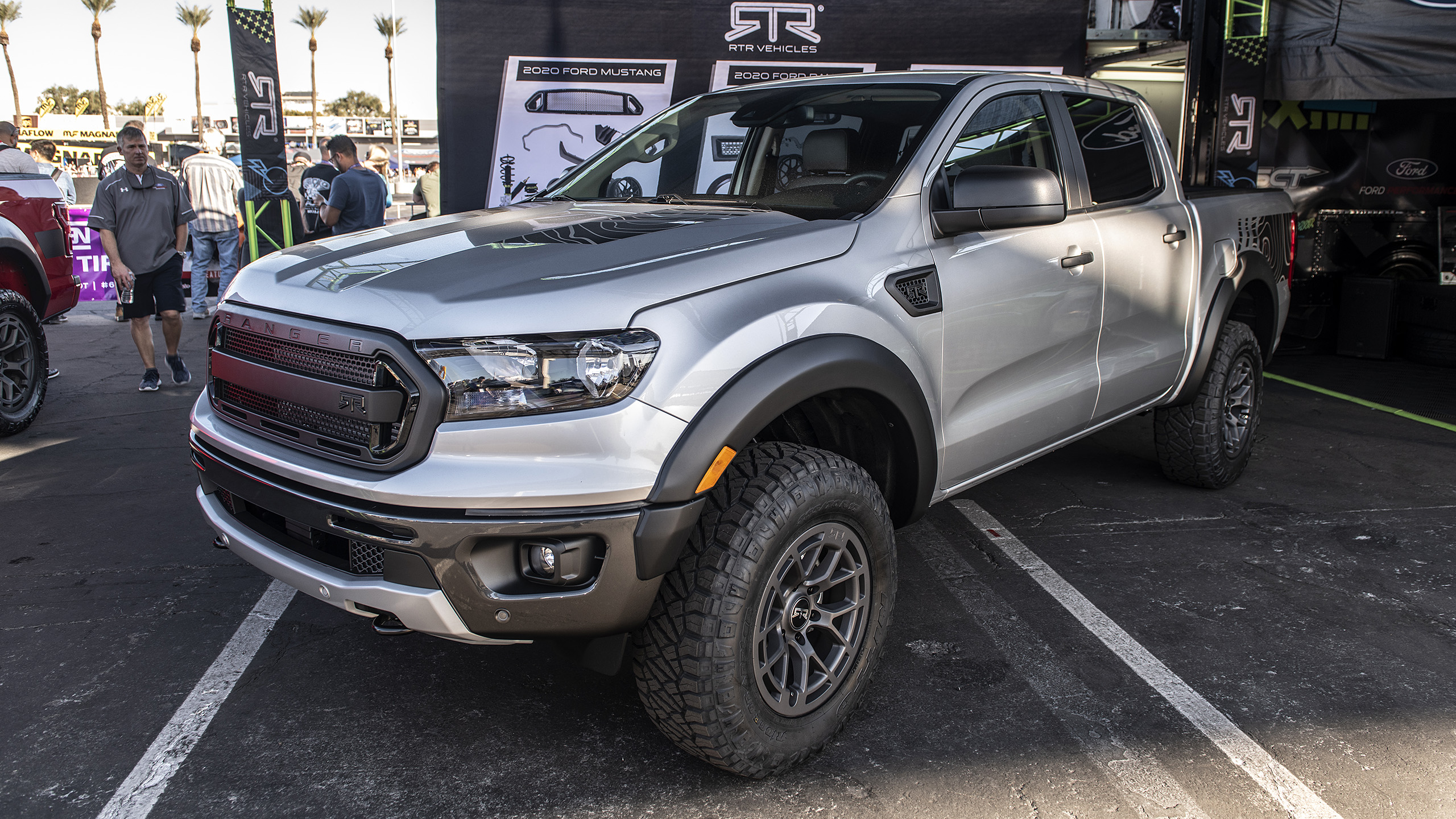 Rtr Ford Ranger Unveiled At Sema 2019 Autoblog