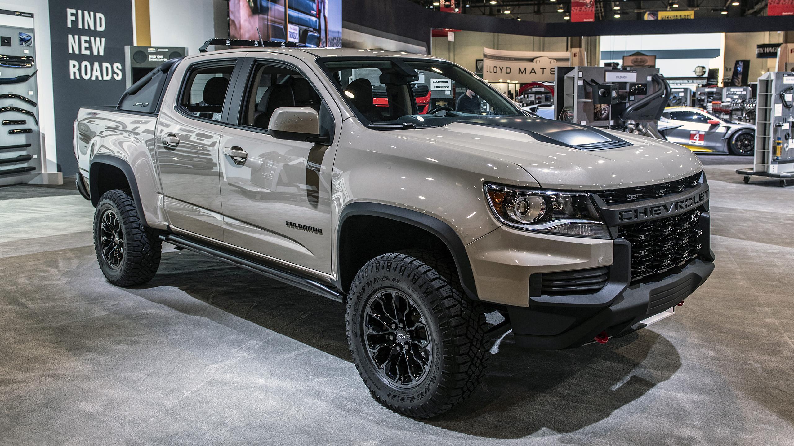 2021 Chevrolet Colorado Zr2 Dusk Edition Sema 2019 Photo Gallery Autoblog