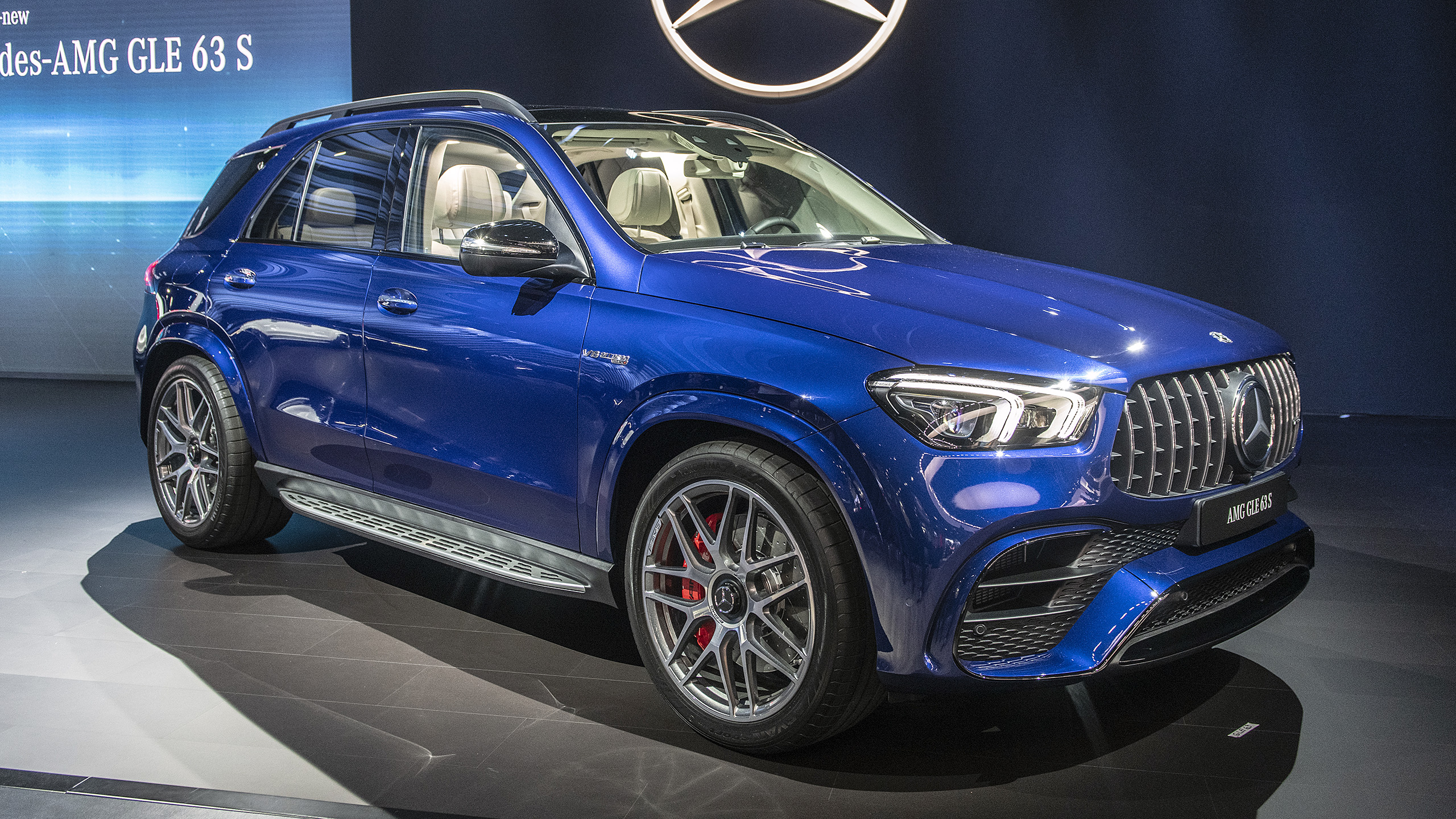 Mercedes-AMG GLE 63 S with 600 horsepower unveiled at L.A ...