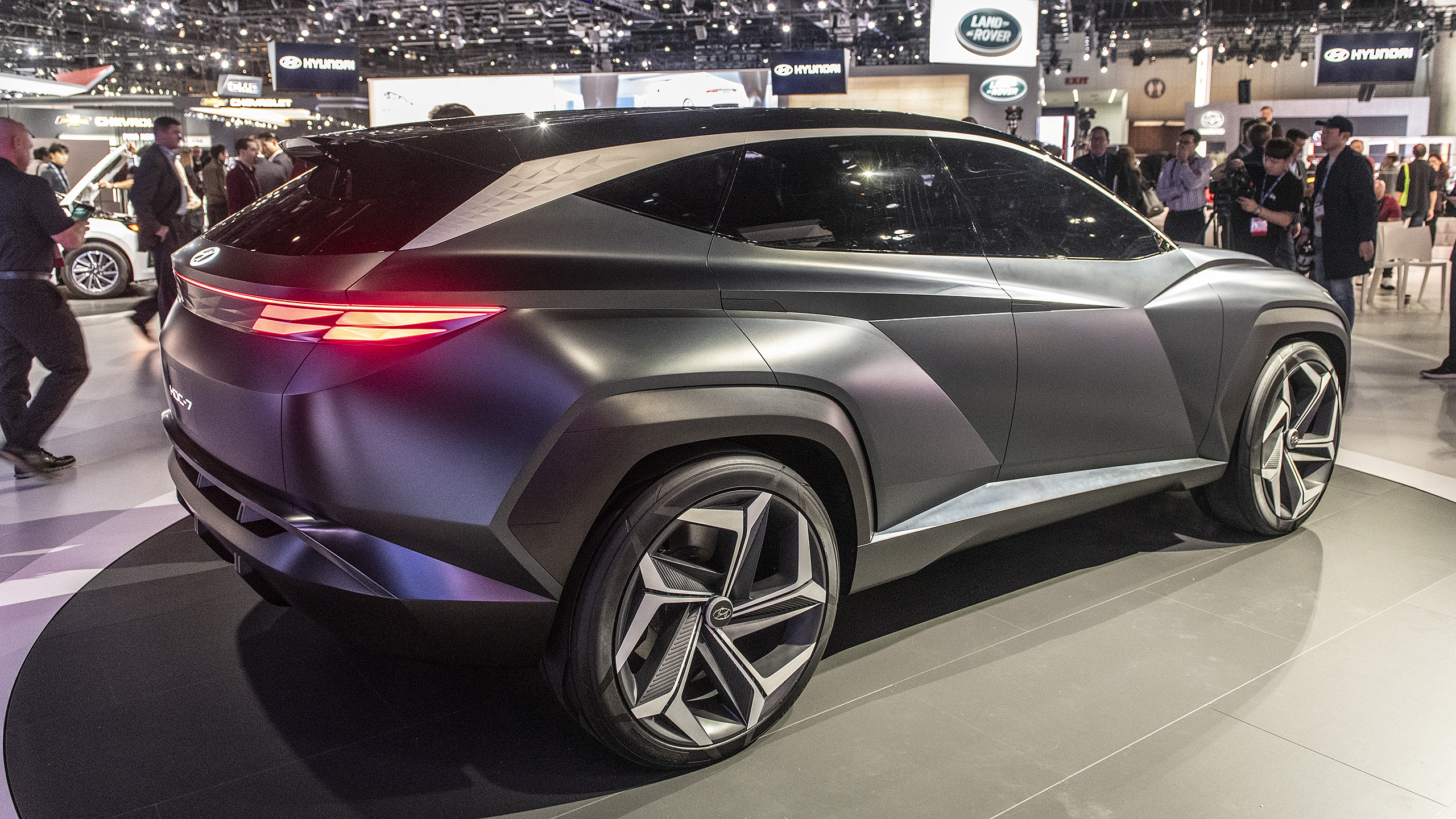 Hyundai Certified Pre Owned >> Hyundai Vision T Plug-in Hybrid SUV Concept debuts at L.A. Auto Show | Autoblog