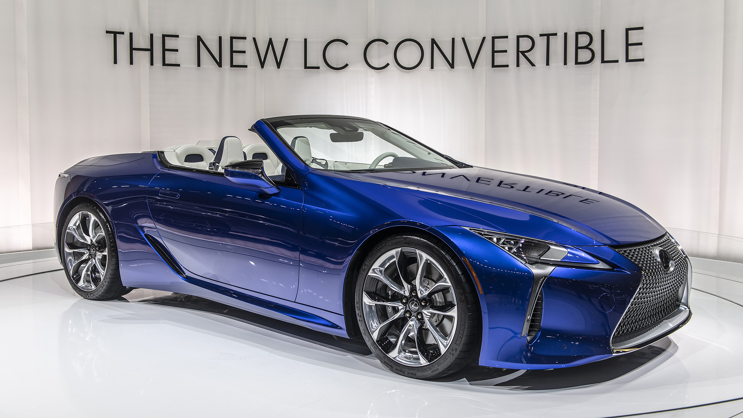 2021 Lexus LC 500 Convertible revealed at L.A. Auto Show ...