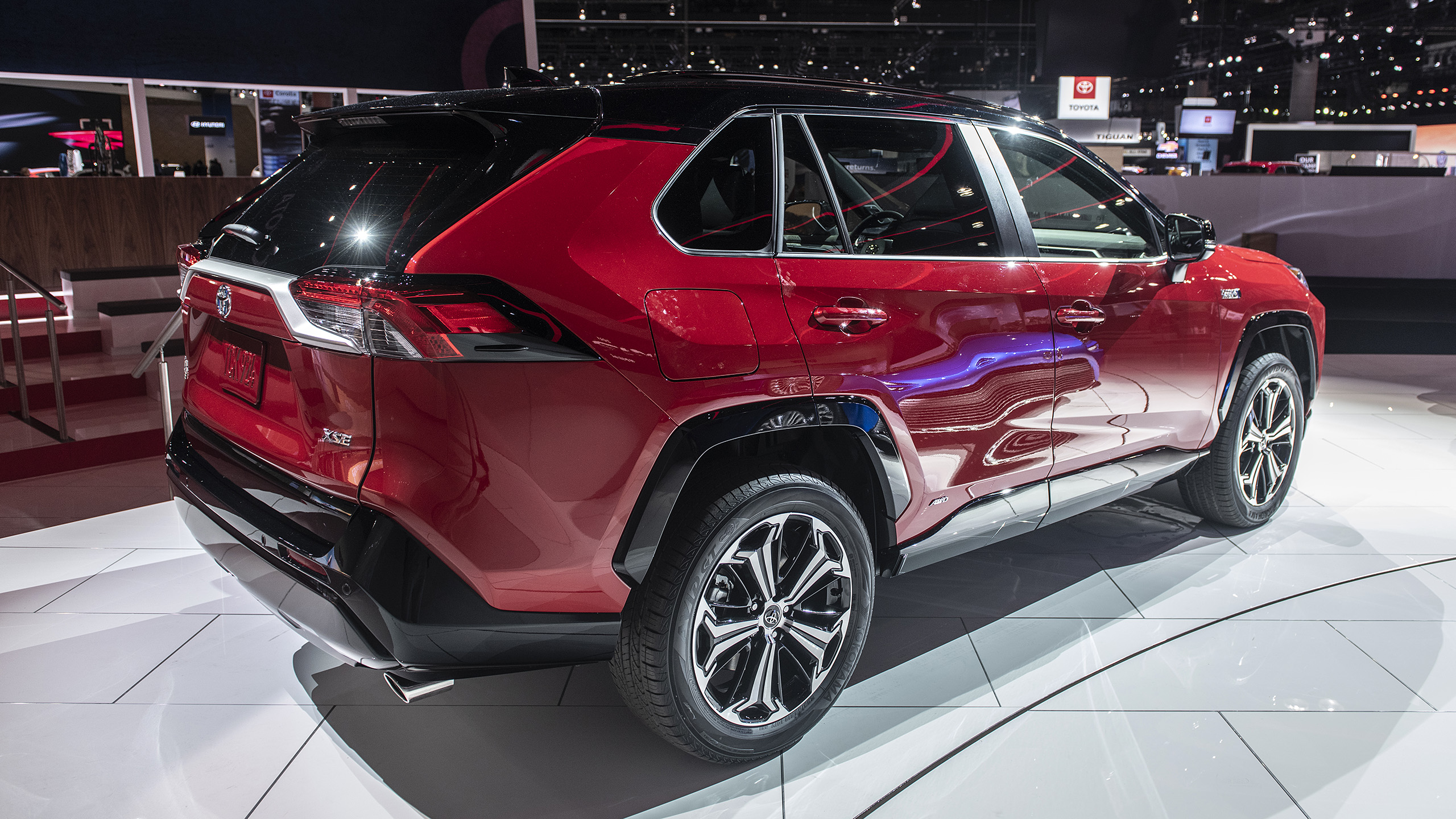 2021 toyota rav4 prime plugin hybrid revealed  la auto