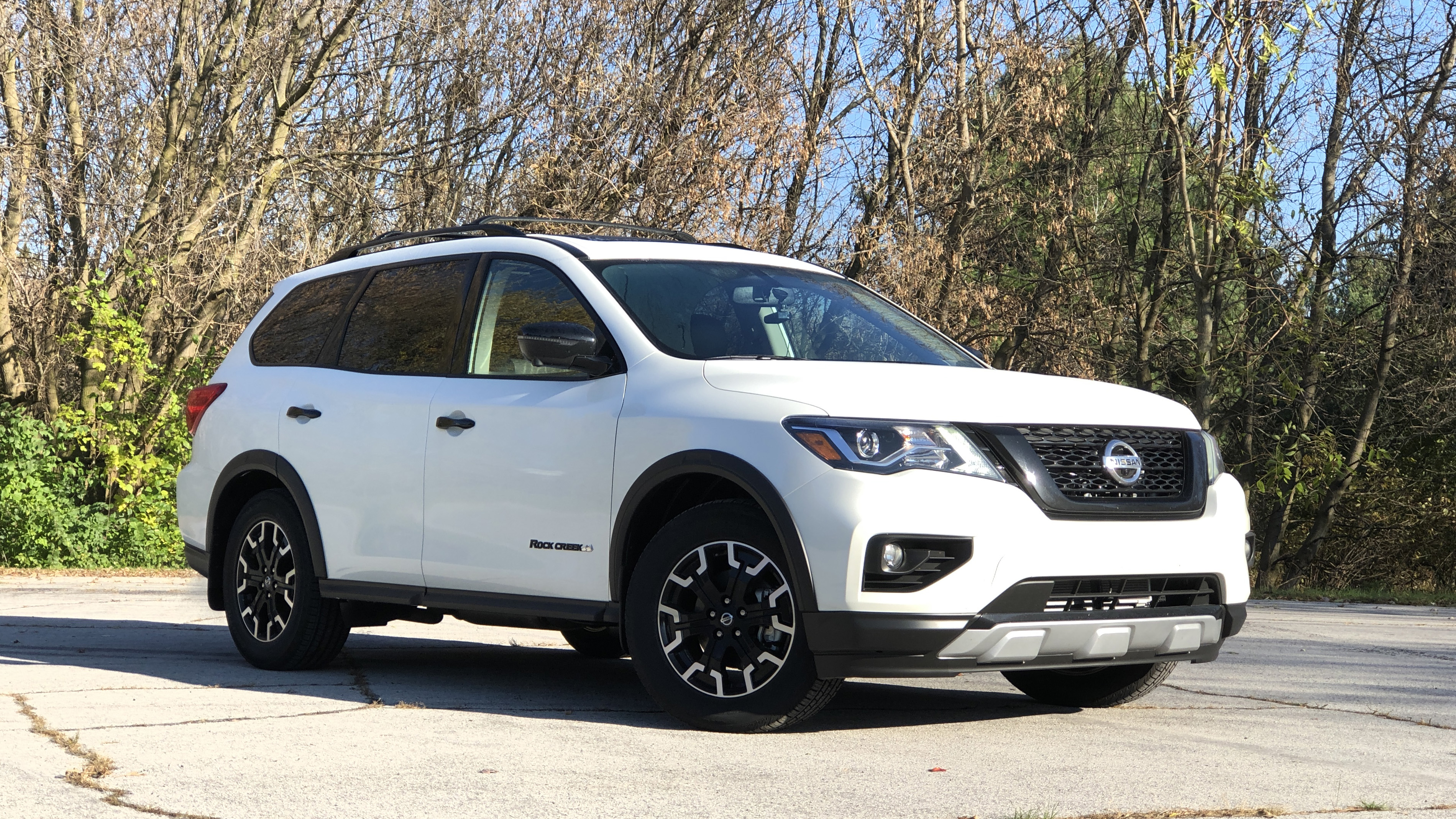 2020 Nissan Pathfinder Rock Creek Edition Review A Faux Off Roader Autoblog