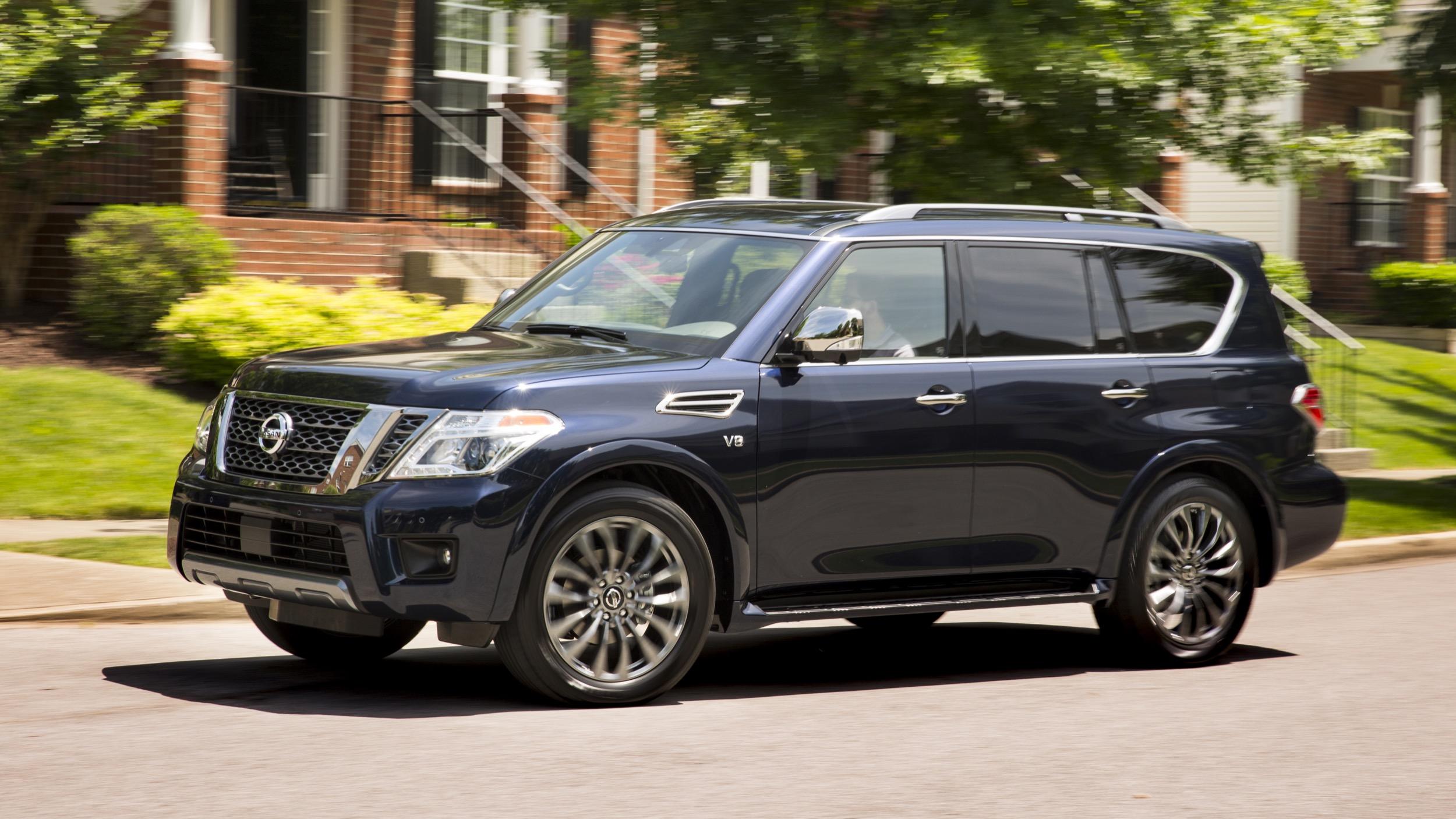 2020 Nissan Armada Reviews Price Specs Features And Photos Autoblog
