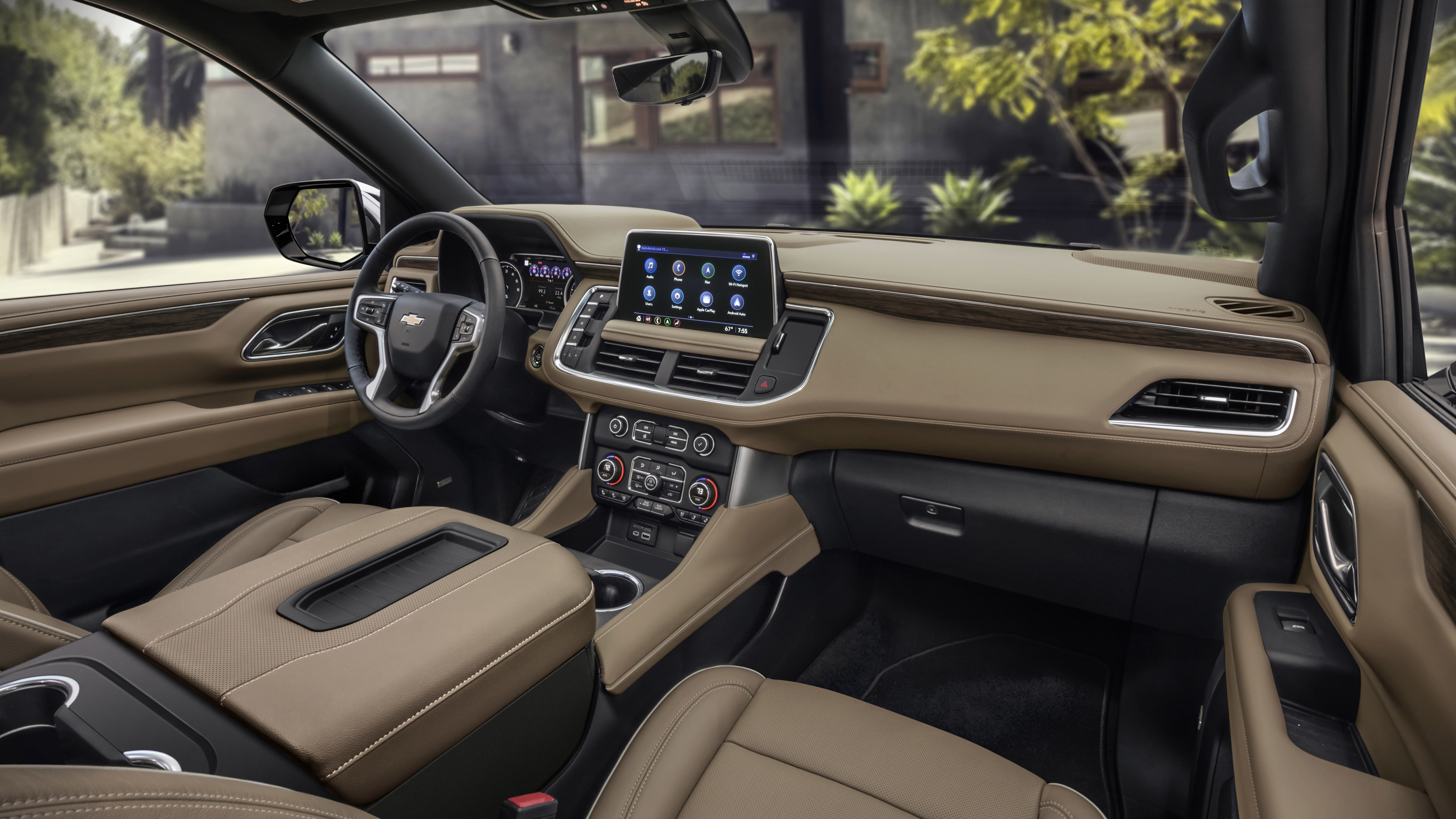2021 Chevy Tahoe and Suburban interior design is a big ...