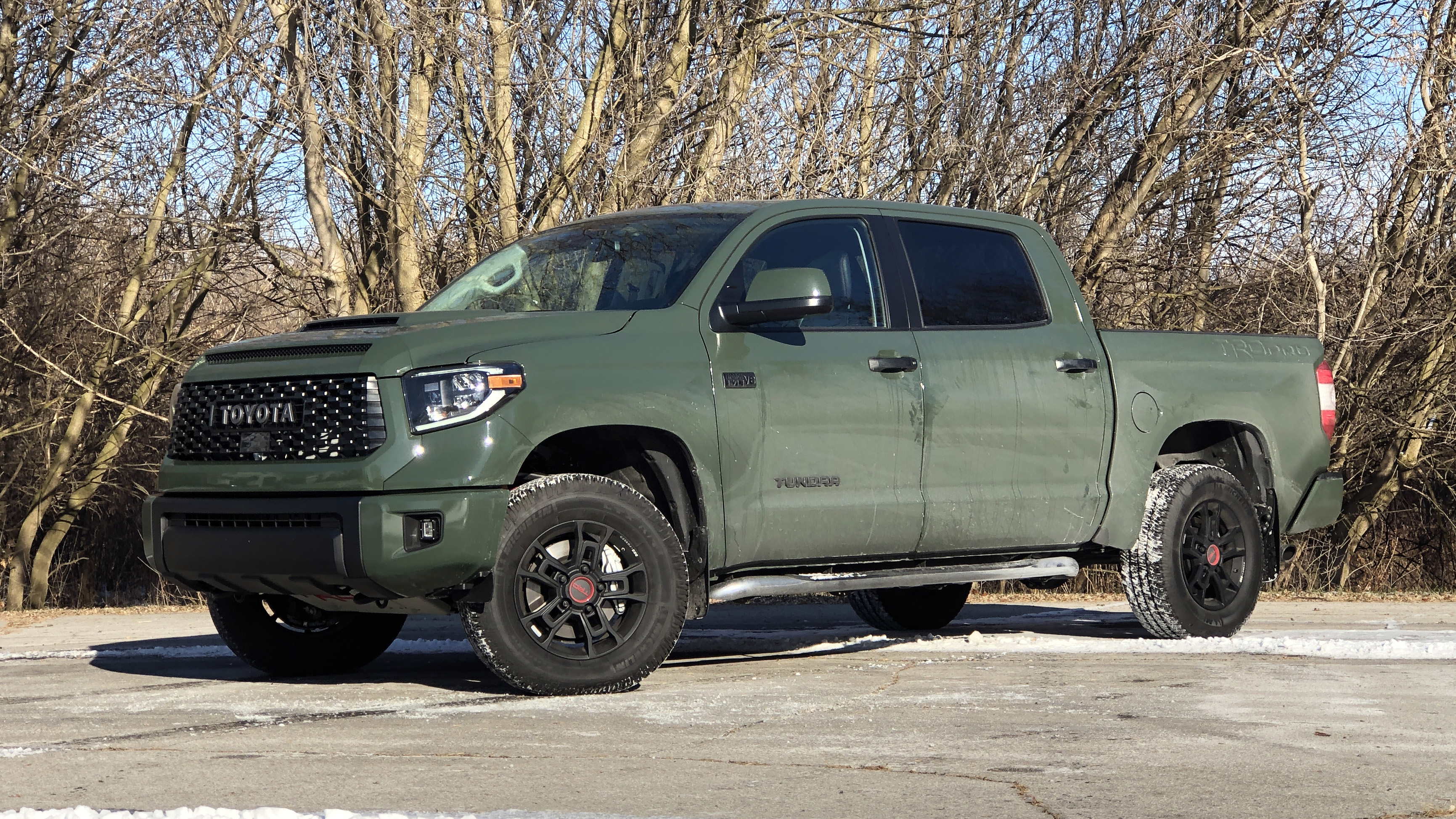 2020 Toyota Tundra Trd Pro Drivers Notes Suspension Engine Interior Autoblog