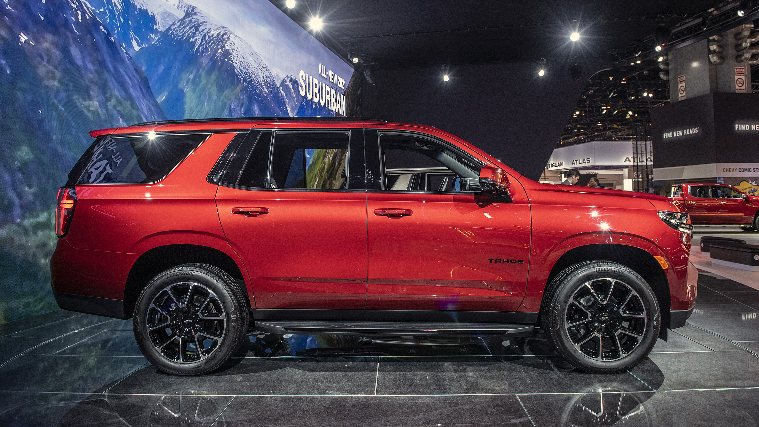Chevrolet prices 2021 Tahoe from $50,295, up $1,000 from ...