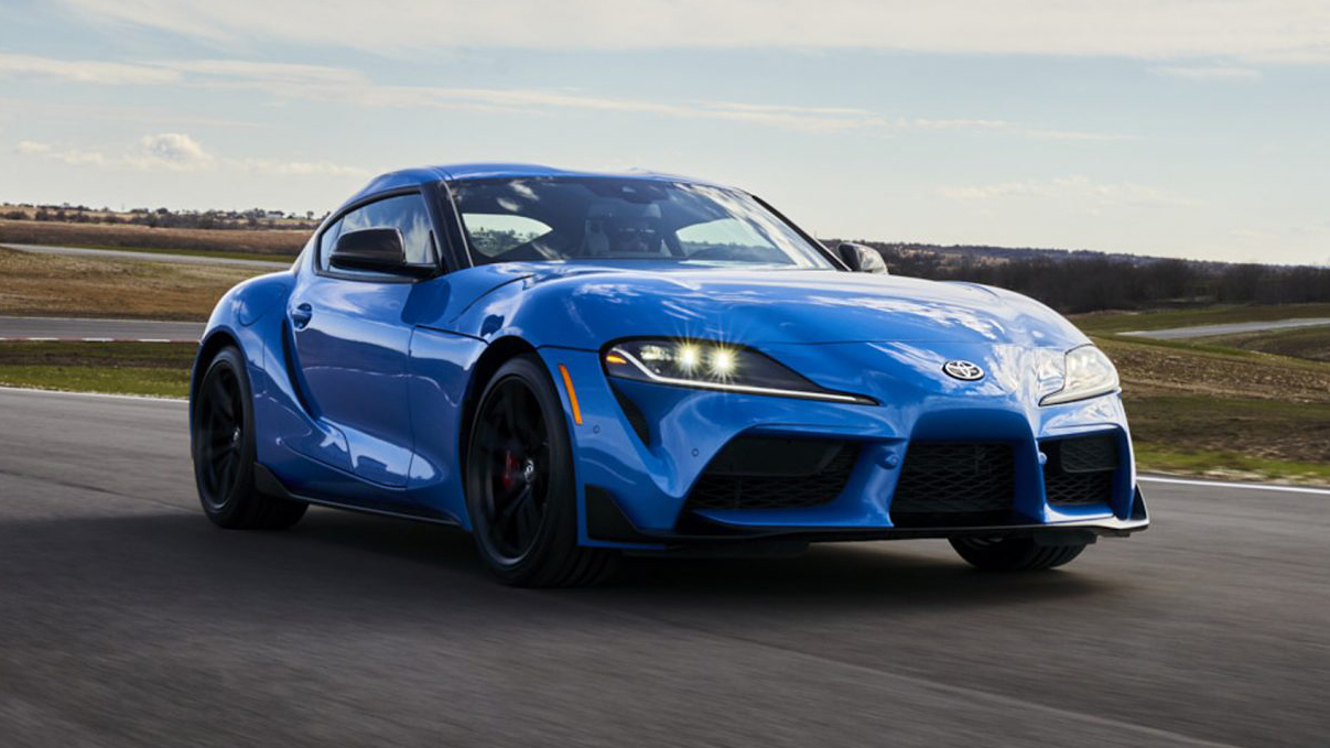 2021 toyota gr supra fuel economy numbers are out | autoblog