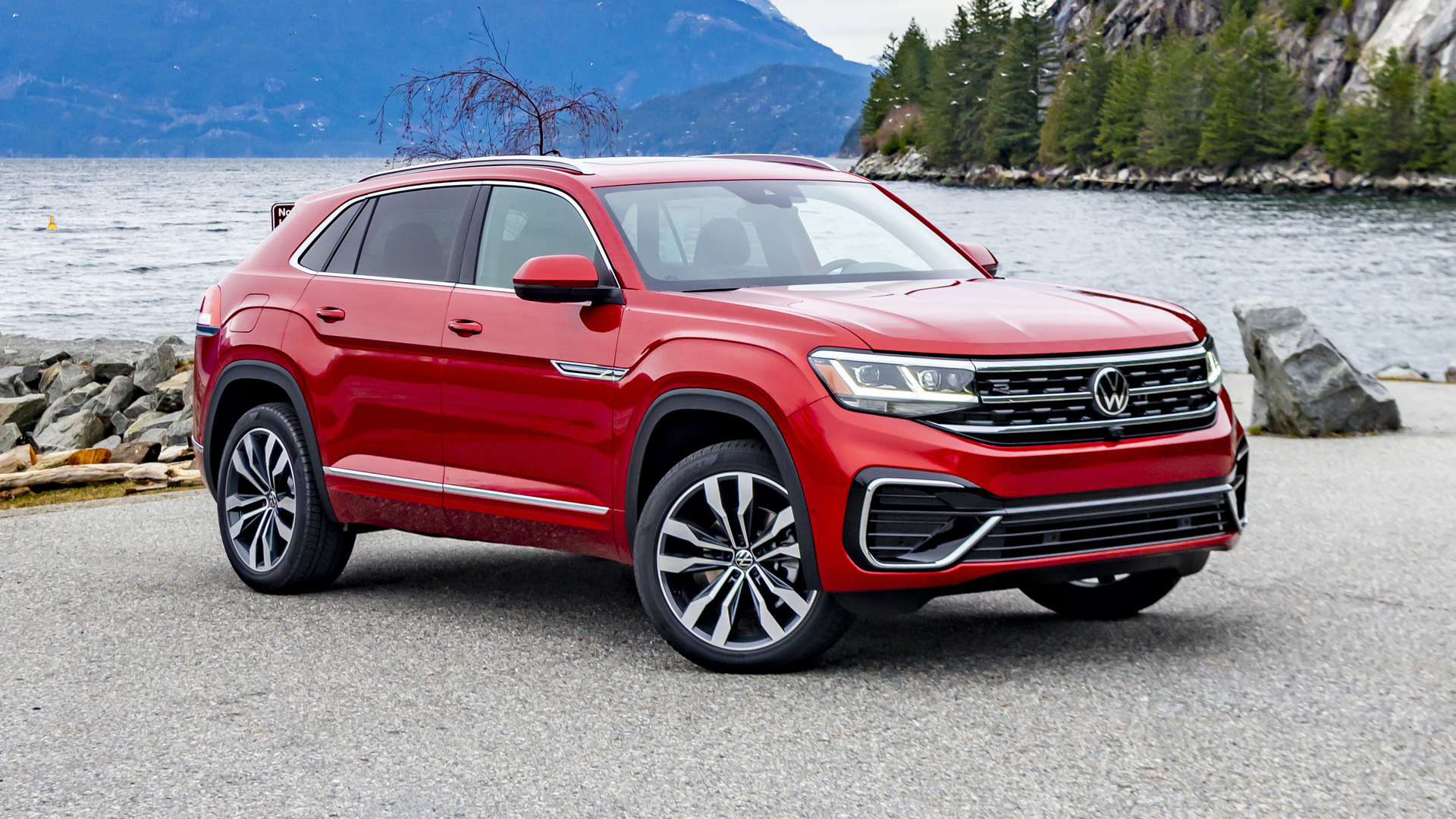 2020 Vw Atlas Cross Sport First Drive What S New Space Features Autoblog