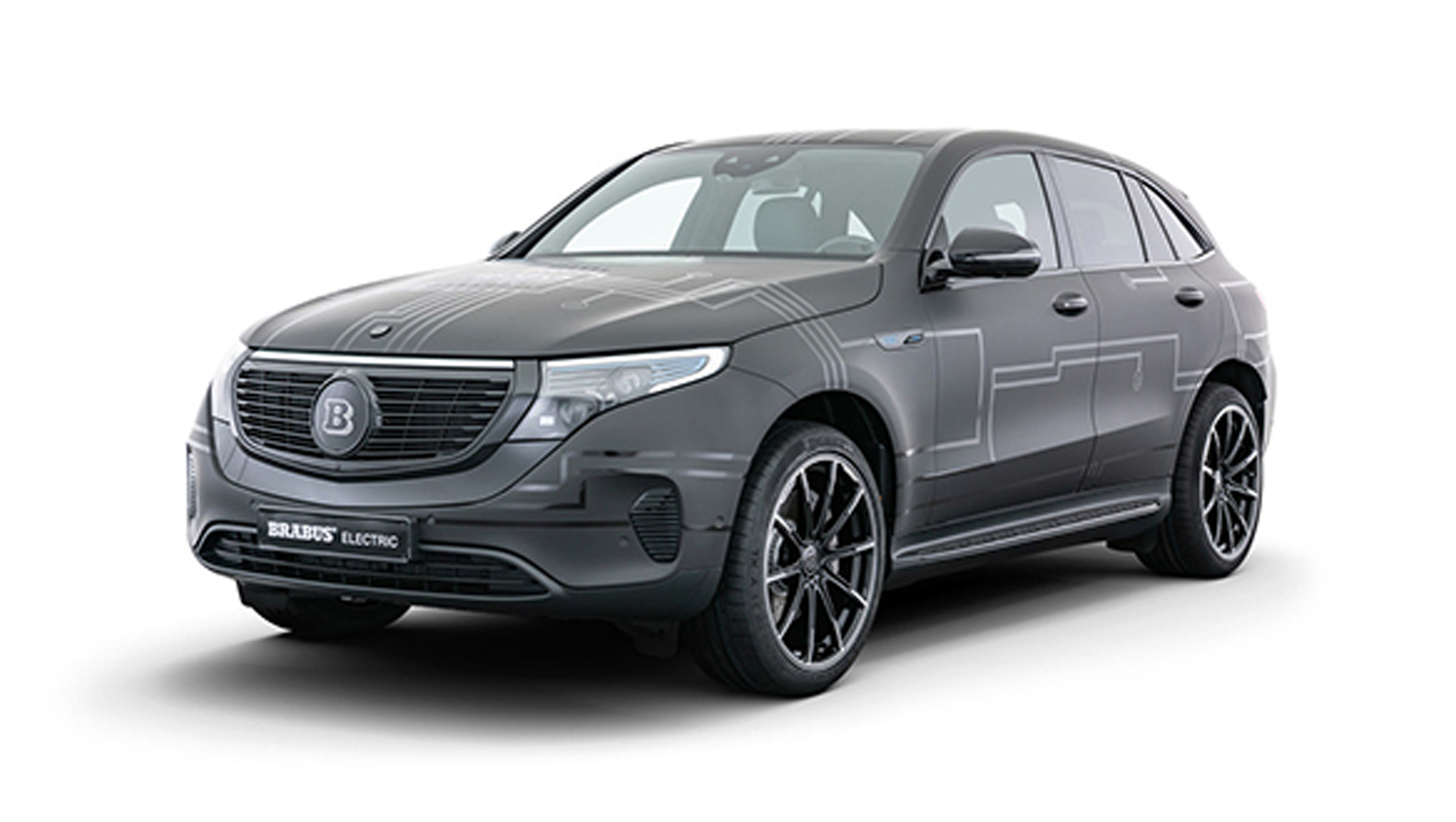 Brabus Mercedes-Benz EQC 400 Concept revealed, produces ...