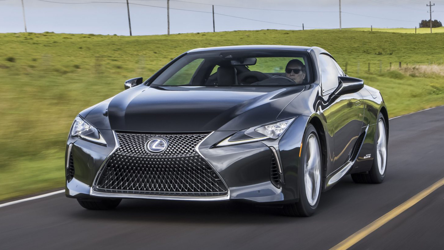 2021 lexus lc gets modest updates | autoblog