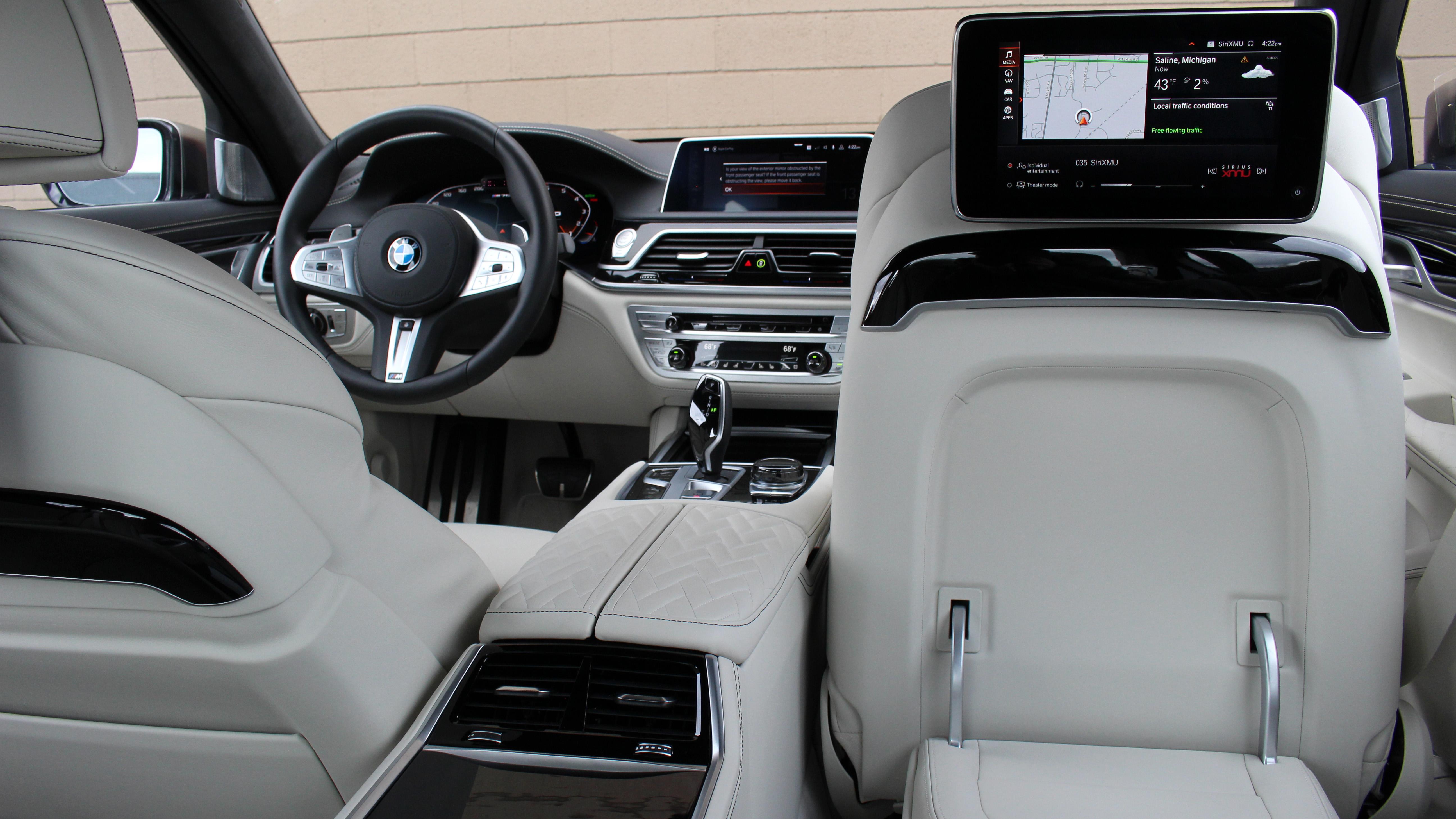 2020 Bmw 7 Series Interior Driveway Test Photos Tech Features Autoblog