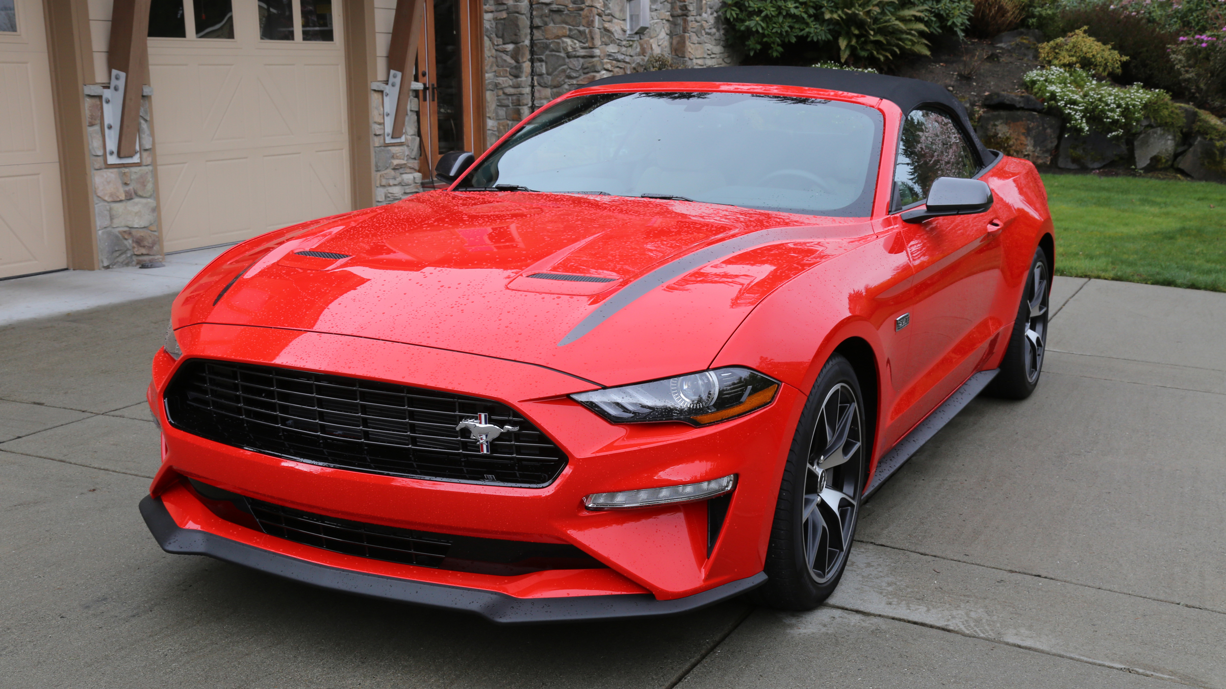 2020 Ford Mustang Ecoboost Convertible With High Performance Package Review Autoblog