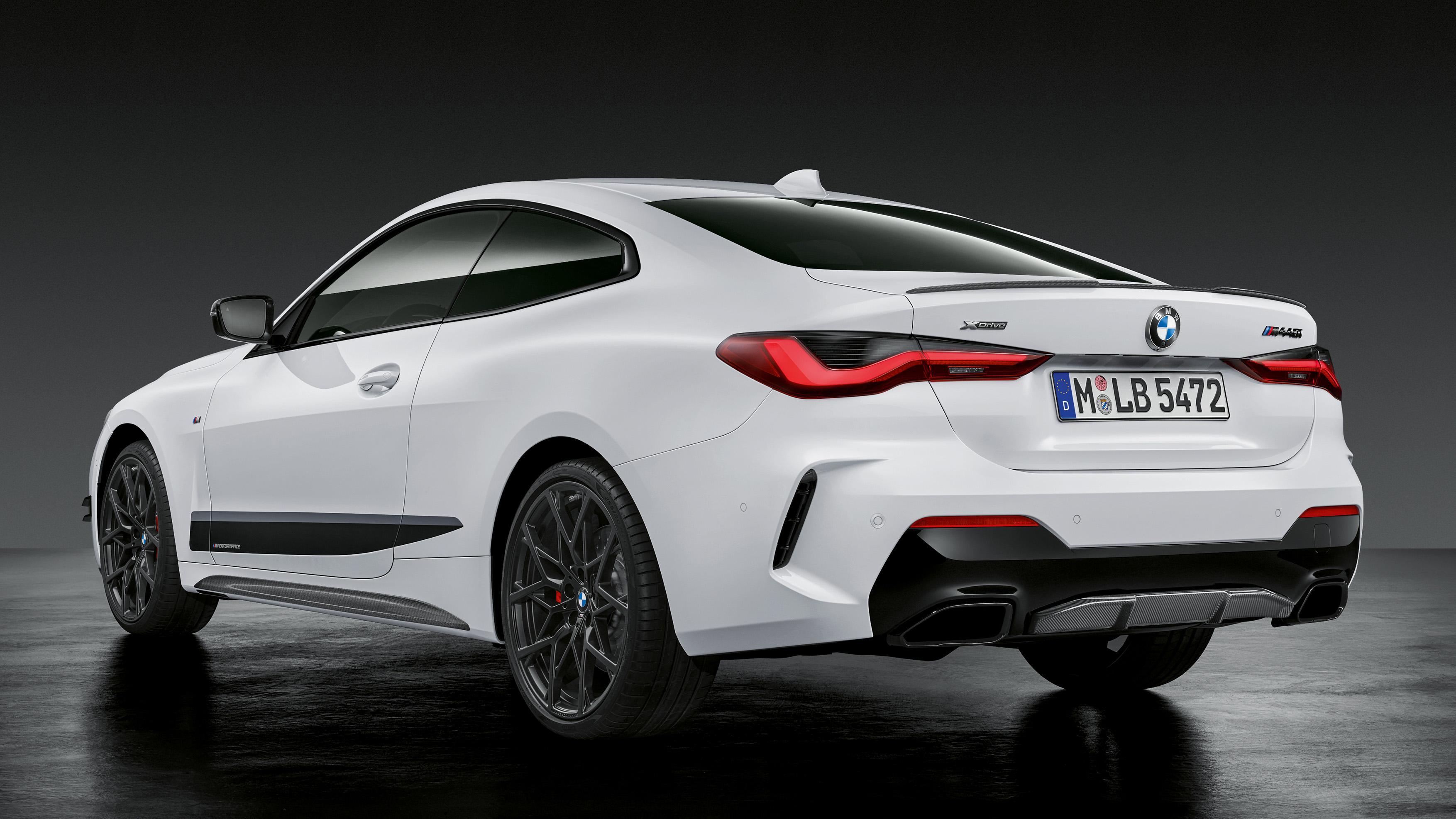 2021 BMW M440i gets M Performance Parts with carbon fiber ...