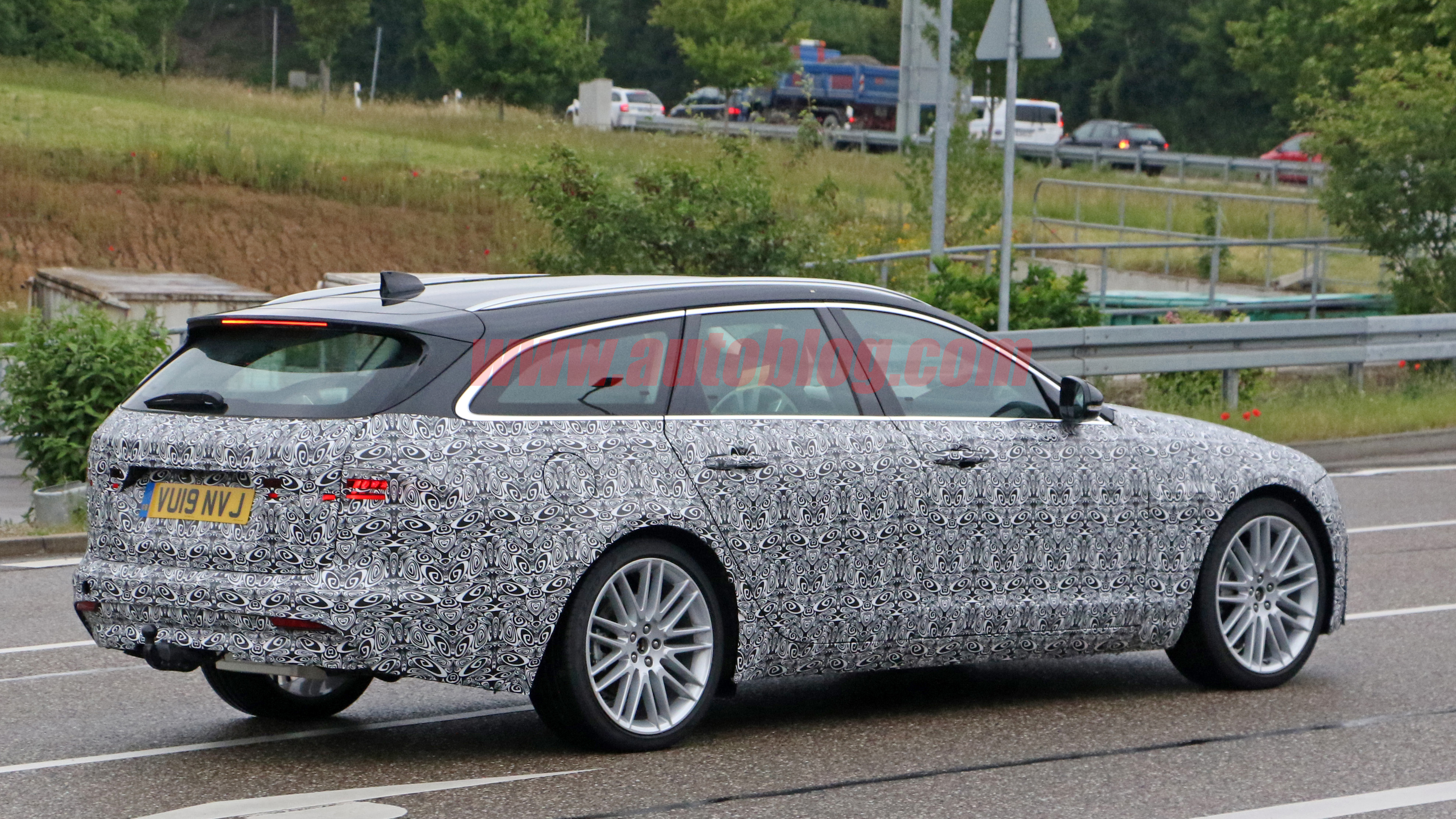 2021 jaguar xf sportbrake and xf sedan spied sporting