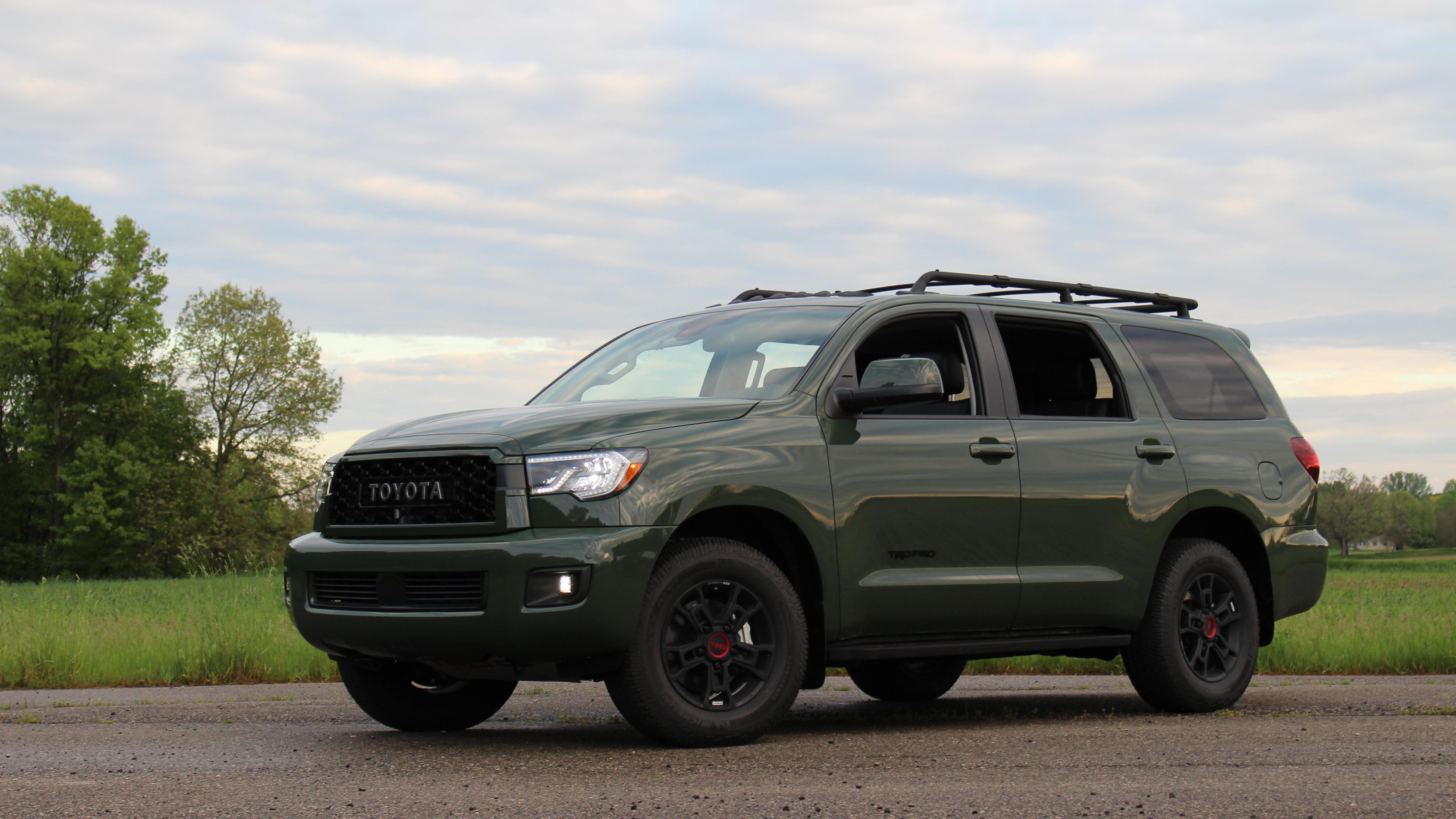 2020 Toyota Sequoia Trd Pro Road Test Features Photos Specs Autoblog