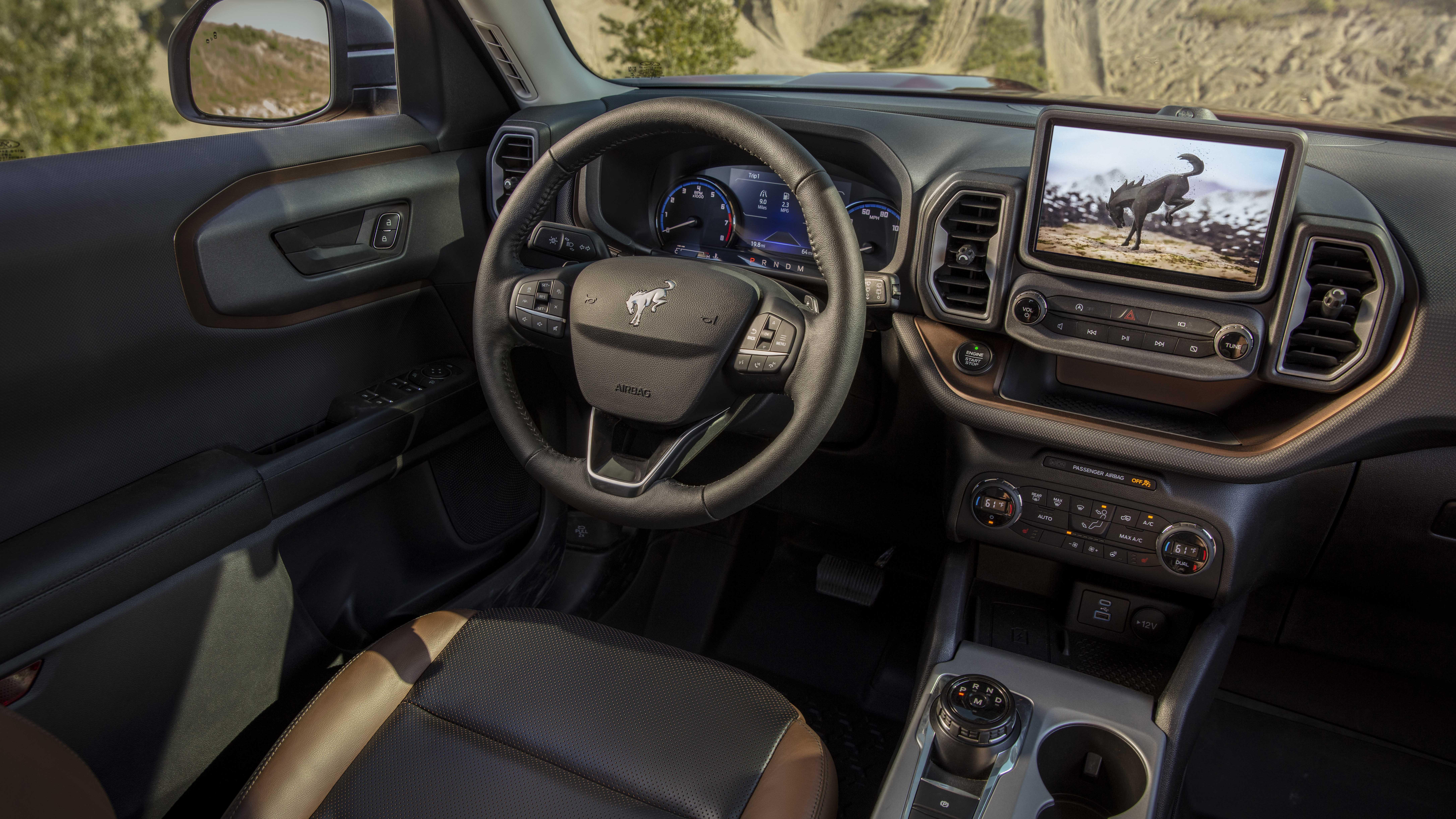 2021 Ford Bronco Sport Interior Photo Gallery Autoblog