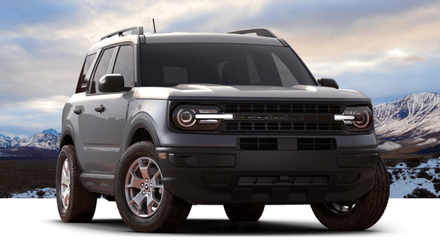 2021 Ford Bronco Sport trim level breakdown | Here's how ...