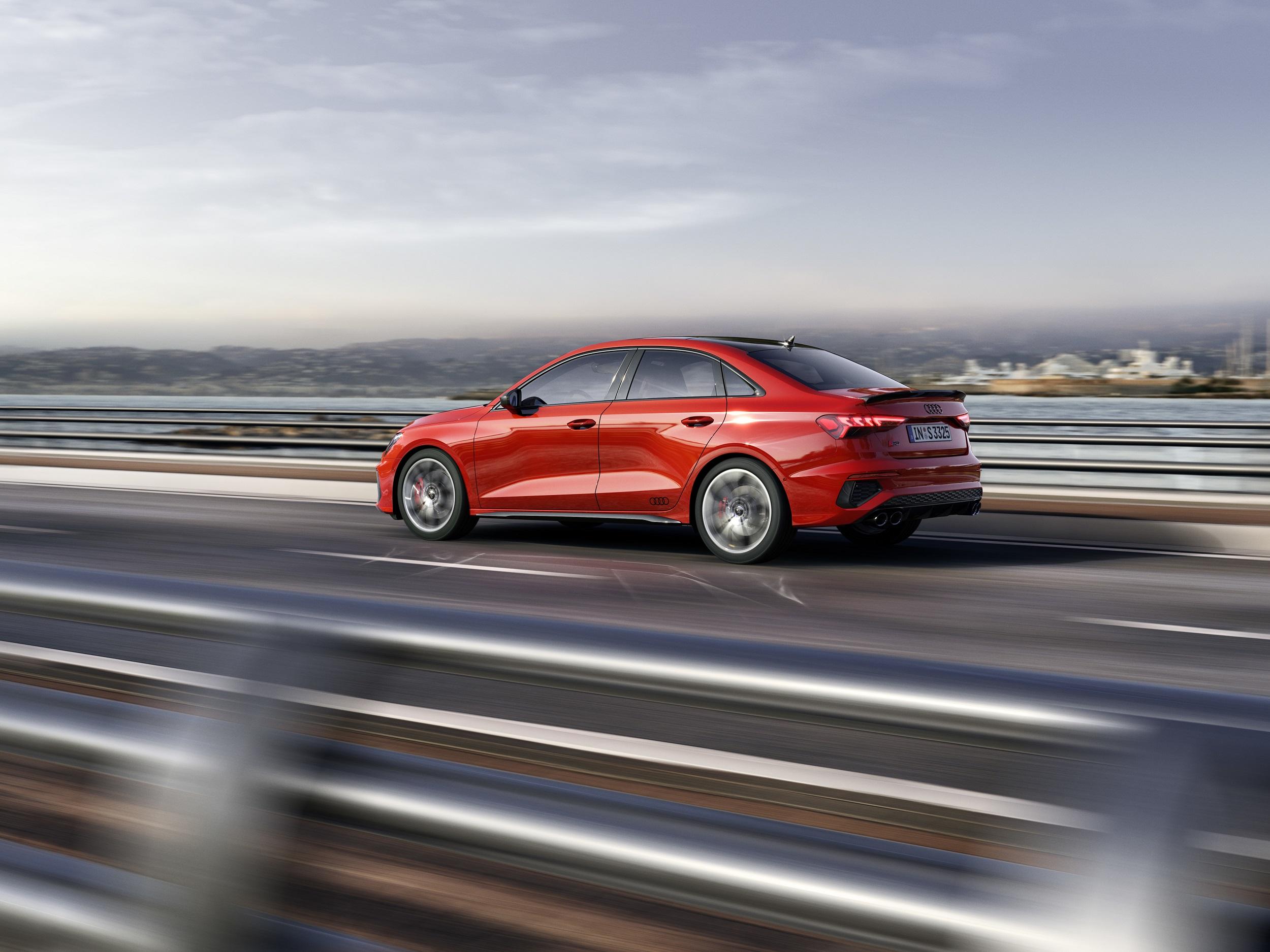 2022 audi s3 sedan, s3 sportback introduced   autoblog
