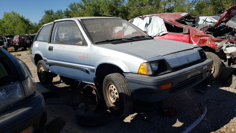 Junkyard Gem: 1984 Honda Civic 1300 Hatchback | Autoblog