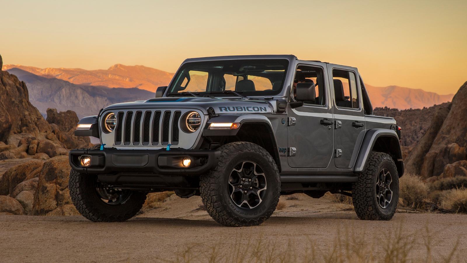 2021 jeep wrangler 4xe boasts most power, best fuel