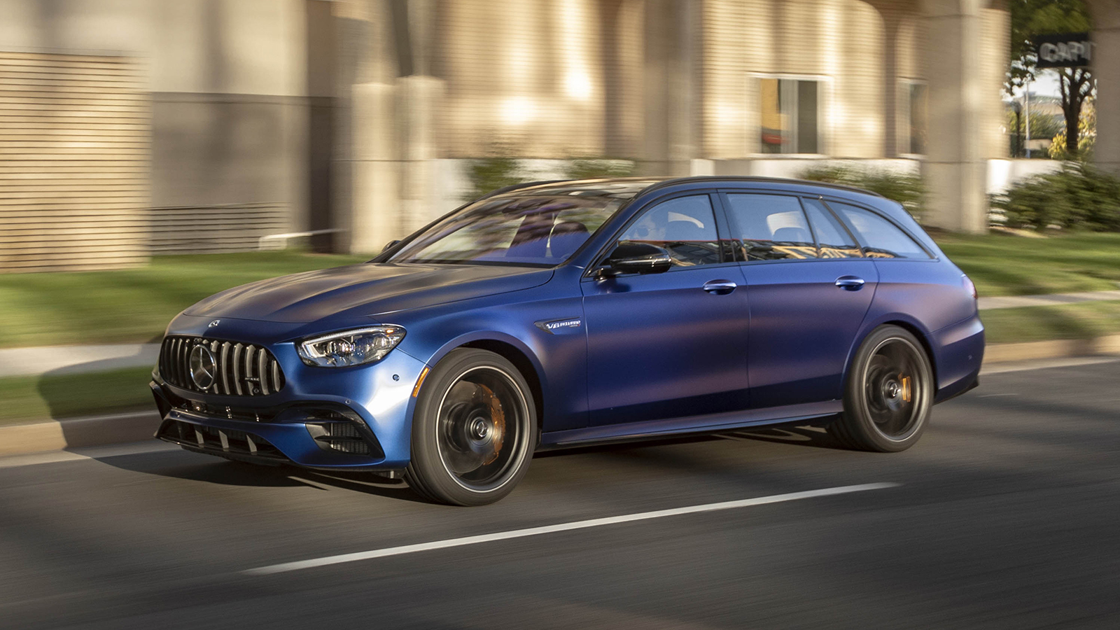 2021 Mercedes-AMG E 63 S Wagon First Drive | Driving ...