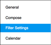 Filters and Alerts