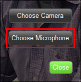 Choose Microphone