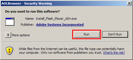 run this software