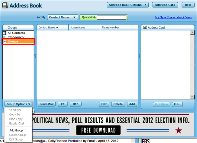 address book software free