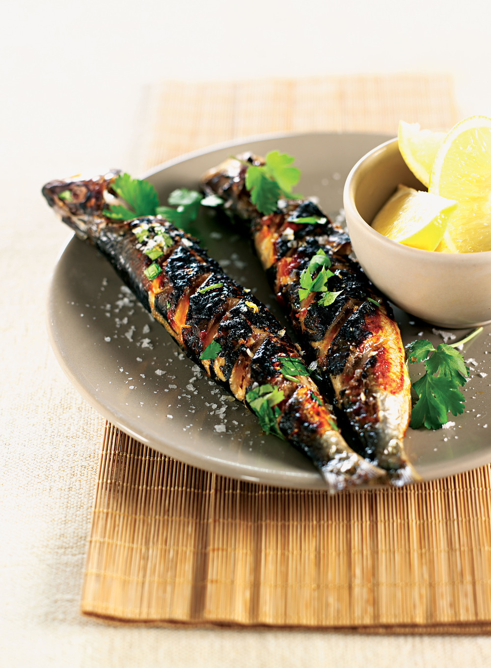 Moroccan Grilled Sardines