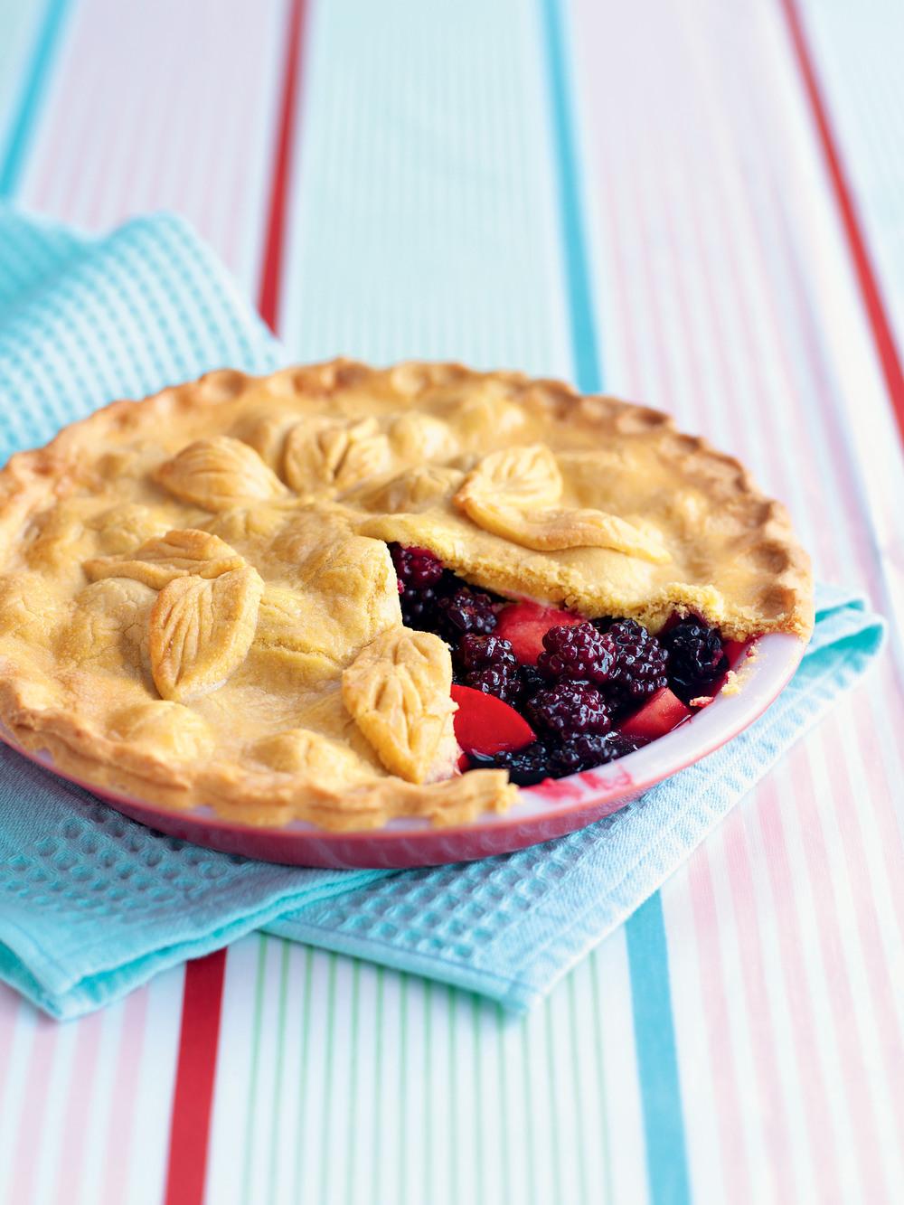 End-of-Summer Custard Pie
