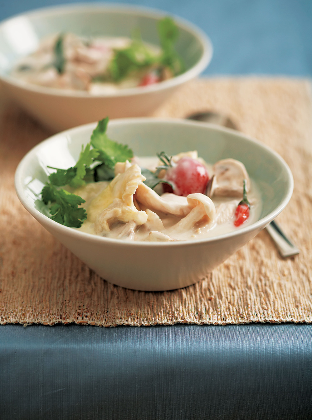 Coconut, Galangal & Chicken Soup