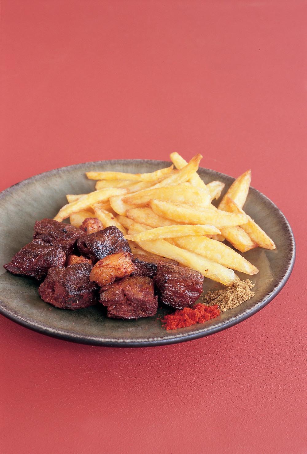 Calves' Liver Kebabs