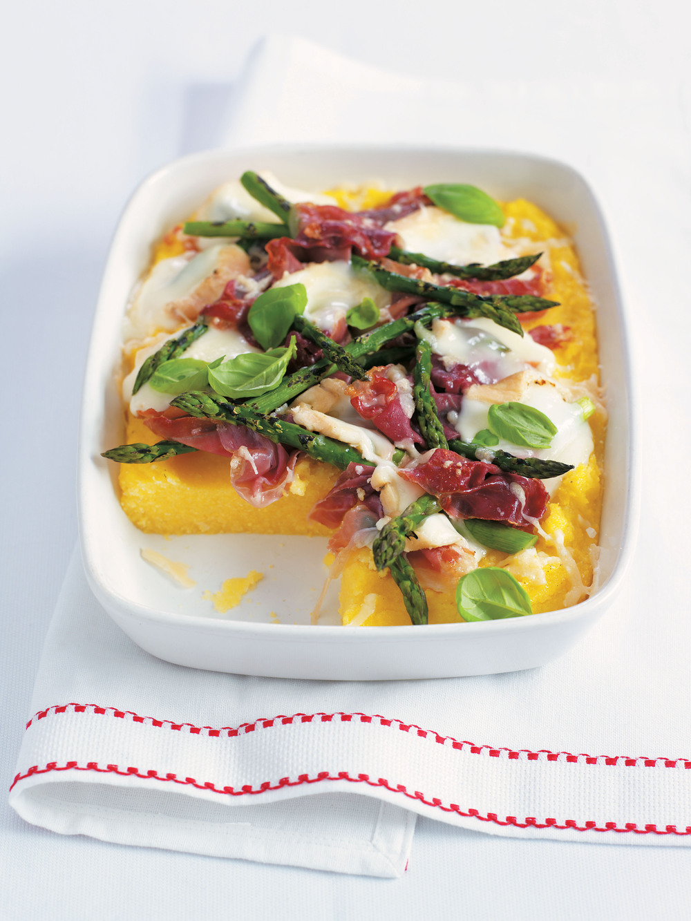 Polenta with Parma Ham & Cheese - AOL Living UK