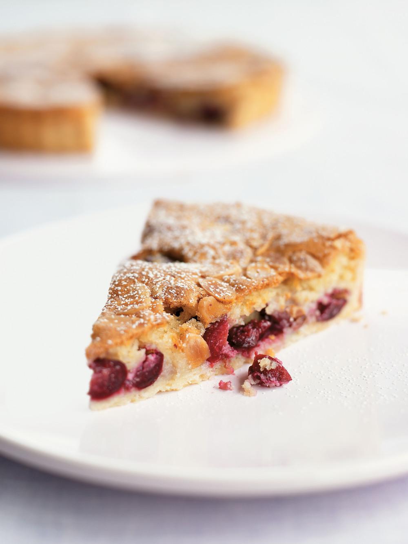 Cherry Frangipane Tart