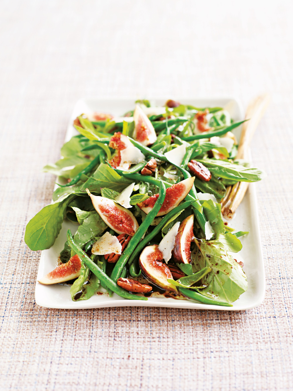 Fig, Bean & Toasted Pecan Salad